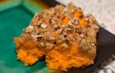 Sweet Potato Casserole - Our Kind of Wonderful