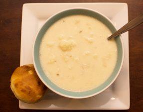 Cauliflower Soup - Our Kind of Wonderful