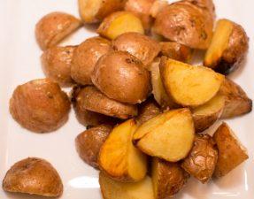 Honey Dijon Roasted Potatoes - Our Kind of Wonderful