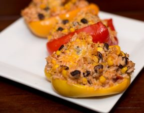 Southwestern Stuffed Peppers - Our Kind of Wonderful