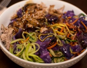 Pork Rice Bowls - Our Kind of Wonderful