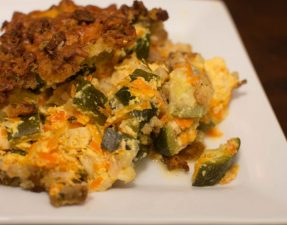 Mom's Zucchini Casserole - Our Kind of Wonderful