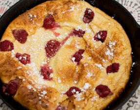 Raspberry German Pancakes - Our Kind of Wonderful
