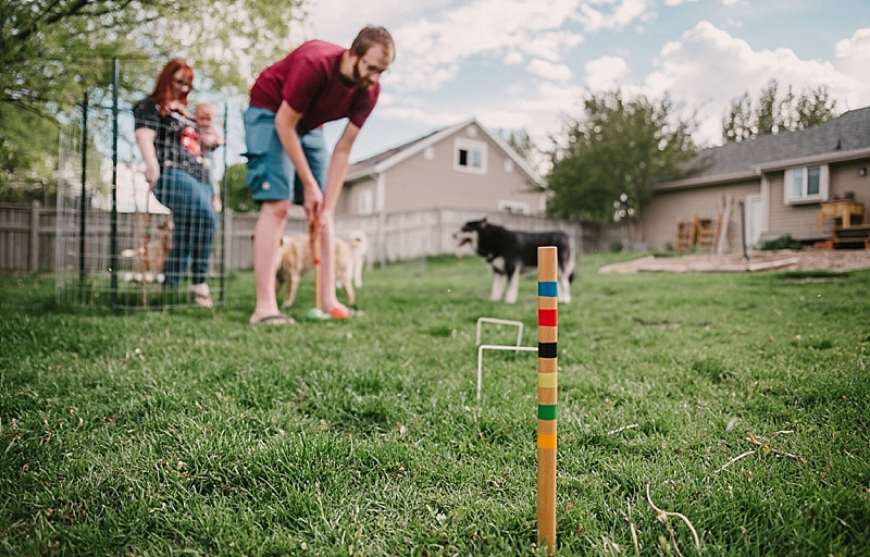 Family Croquet Night - Our Kind of Wonderful