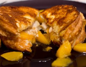 Peaches and Cream French Toast - Our Kind of Wonderful
