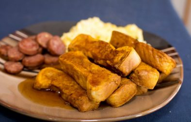 Pumpkin French Toast Sticks - Our Kind of Wonderful