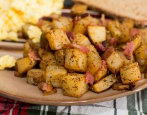 Breakfast Potatoes - Our Kind of Wonderful