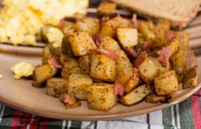 Breakfast Potatoes - Our Kind of Wonderful