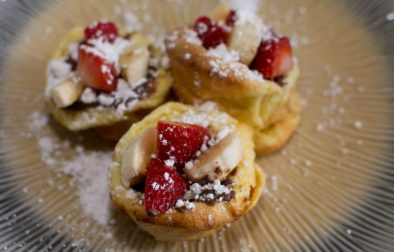 Mini German Pancakes - Our Kind of Wonderful