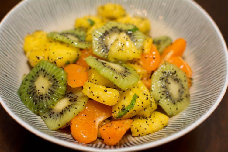 Winter Fruit Salad - Our Kind of Wonderful