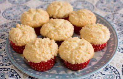 Lemon Crumb Muffins with a Lemon Crumb Topping