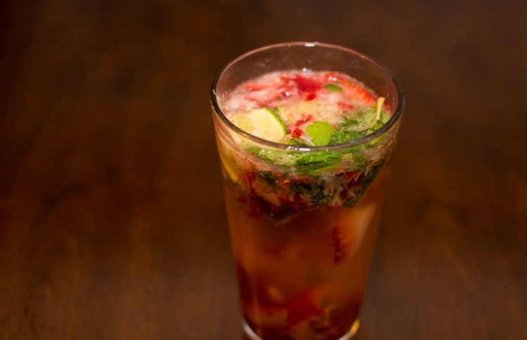 Strawberry Mojito - Our Kind of Wonderful